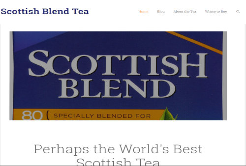 Scottish Blend Tea.com